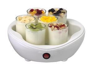 Salton YM7 42-Ounce Electric Yogurt Maker with 7 Glass Jars