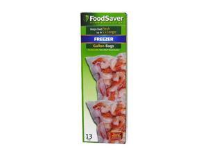 FoodSaver FSFSBF0316-000 1-Gallon Size VacLoc Bags (15 Pack)