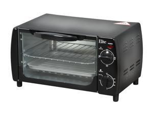 Maxi-Matic EKA-9210B Black Elite Cuisine 4-Slice Toaster Oven Broiler