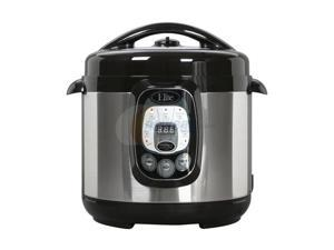 Maxi-Matic Elite EPC-807 Elite Platinum 8-Quart 1200 Watts Digital Pressure Cooker with Non-Stick Pot