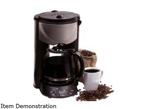Maxi-Matic EHC-646T Stainless steel 12-Cup Programmable Coffeemaker