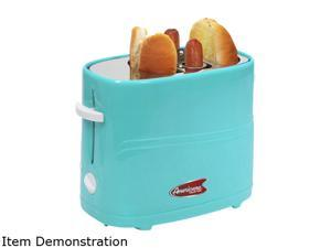 Elite Cuisine MAXI-MATIC ECT-304BL Hot Dog Toaster Blue