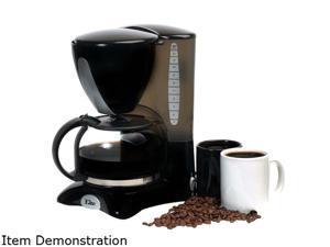 Maxi Matic EHC2066X  Elite Cuisine 12-Cup Coffee Maker, Black