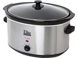 Maxi-Matic Elite MST-900V Stainless Steel 8.5 Qt. Deluxe Sized Slow Cooker