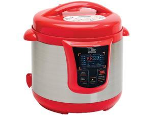 MAXI-MATIC EPC-808R 8-Quart Digital Pressure Cooker