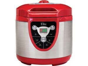 Elite EPC-607R 6-Quart Digital Electronic Pressure Cooker
