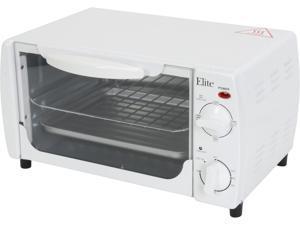 Maxi-Matic Elite EKA-9210W White 4-Slice Toaster Oven Broiler