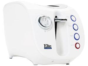 MAXI-MATIC ECT-231W White 2 Slice Electric Toaster
