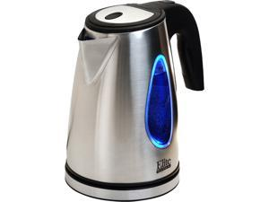 Elite EKT-1271 Platinum 1.7L Stainless Steel Cordless Electric Kettle