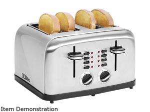 MAXI-MATIC ECT-2334X 4 Slice Stainless Steel Toaster