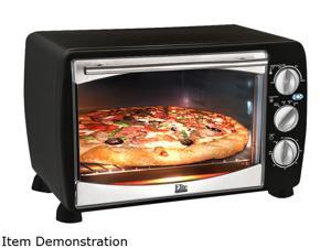 Maxi-Matic Elite ETO-180B Black Elite Platinum 6 Slice/0.64Cu. Ft. Toaster Oven Broiler
