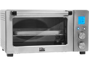Maxi-Matic ETO-1231 Silver Elite Platinum 6 Slice Smart Toaster Oven Sliver