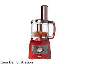 Elite EFP-7719R Red Platinum 3 Cup Food Processor