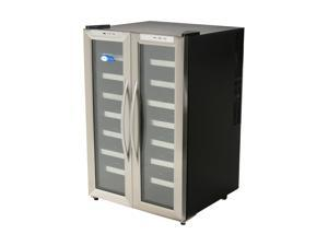 Whynter WC-321DD 32-Bottle Dual Zone Wine Cooler