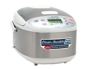 ZOJIRUSHI NS-LAC05 Stainless Steel Micom Rice Cooker & Warmer