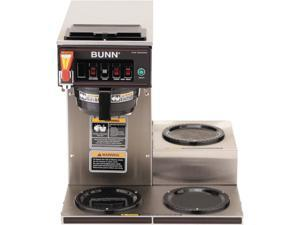 BUNN  12950.0212  CWTF15-3 Automatic Commercial Coffee Brewer with 3 Lower Warmers