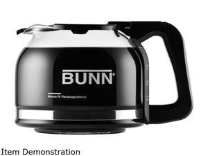 BUNN  49715.0100  Black  Pour-o-Matic 10-Cup Drip Free Carafe, Black