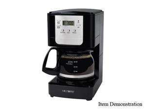 MR. COFFEE JWX3 Black 5-Cup Programmable Coffee Maker