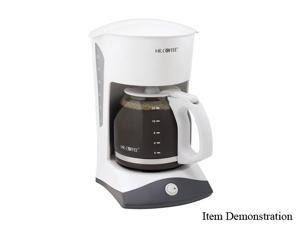 MR. COFFEE SK12 White 12 Cup Switch Coffee Maker