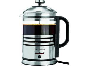 MR. COFFEE BVMC-FPK33-RB 3-n-1 Best Electric French Press & Hot Water Kettle for rich-tasting Coffee, delicious tea and hot water