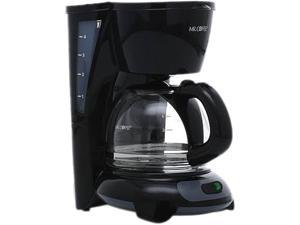 MR. COFFEE TF5GTF-RB Black Simple Brew 4-Cup Switch Coffee Maker