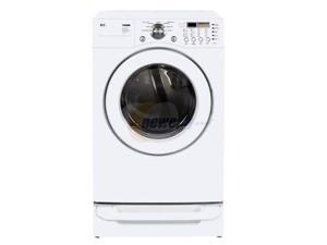 LG DLE3777W White Electric Dryer