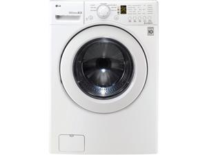 LG WM2140CW White Front-Loading Washer