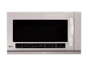 LG LMHM2017ST 2.0 cu. ft. Over-The-Range Microwave Oven with Extenda Vent and Warming Lamp