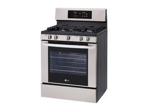 Lg  LRG3091ST:  5.4  cu.  ft.  Capacity  Gas  Single  Oven  Range