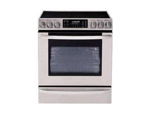 LG Extra-large Capacity Slide-in Electric Range with Dual True Convection System LSE3092ST