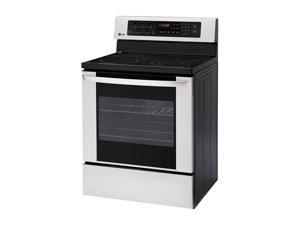 LG Freestanding Electric Oven with Storage Drawer LRE3012ST