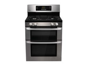 LG Freestanding Gas Double Oven LDG3011ST