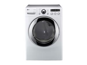 LG DLEX2650W White 7.3 cu.ft. Electric 7.3 cu.ft. Ultra-Large Capacity SteamDryer