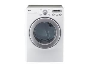 LG DLE2250W White 7.1 cu. ft. Electric 7.1 cu. ft. Extra Large Capacity Dryer with Sensor Dry
