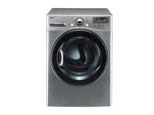 LG DLEX3470V Graphite Steel 7.3 cu. ft. Electric Ultra Large SteamDryer with Dual LED Display