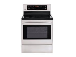 LG Large Capacity Freestanding Electric Oven LRE3023ST