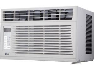 LG 6,000 BTU 115V Window-Mounted AIR Conditioner with Remote Control
