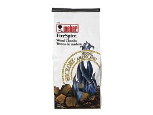 weber 17056 FireSpice Hickory Wood Chunks (5-pound bag)
