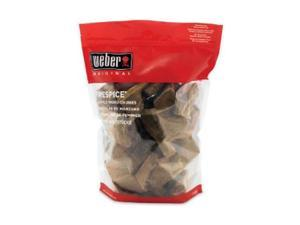 weber 17005 FireSpice Apple Wood Chunks 5 Pound Bag