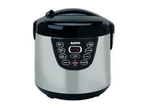 SANYO ECJ-M100S Gray/Black 10-Cup Rice Cooker