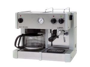 Prestige Coffee Maker Model 50668 C : BRIEL ED171APG-TB MULTI-PRO PRESTIGE Espresso/cappuccino machine with built-in 10-cup drip ...