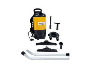 Koblenz BP-1400 Commercial Grade Backpack Vacuum Cleaner, Yellow