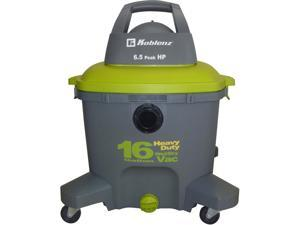 Koblenz WD16 16 Gallon Wet-Dry Vacuum Cleaner 6.5 hp Green/Gray