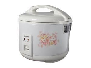 TIGER JNP-1500 White 4 Cups (Uncooked)/8 Cups (Cooked) Electronic Rice Cooker/Warmer Made in Japan