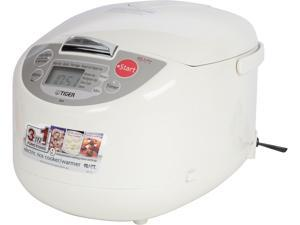 Tiger Microcomputer Controlled Rice Cooker/Warmer with Soft Touch Button, JBA-A18U, 10 Cups (Uncooked)/20 Cups (Cooked)