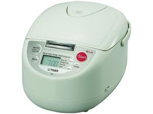 Tiger JBA-A10U Micom 5.5-Cup (Uncooked) Rice Cooker and Warmer with 3-in-1 Functions