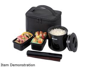 Tiger LWYE046K4 Lunch Box Bento Set 1.0l Incl Thermal Ricejar