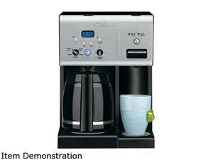 Cuisinart CHW-12C Black Coffee PLUS 12-Cup Programmable Coffeemaker and Hot Water System