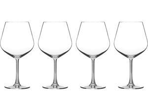 Cuisinart  CG-02-S4BU  Advantage Glassware Essentials Collection Burgundy Glasses, Set of 4