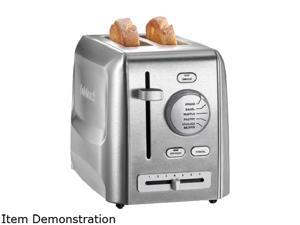 Cuisinart CPT-620 Stainless Steel 2-Slice Metal Toaster, Stainless Steel